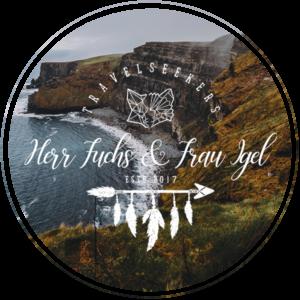 Reisetiere Logo Herr Fuchs und Frau Igel