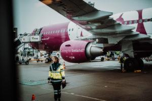 Iceland Wow Air Flug Flugzeug